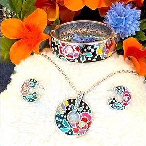 "Brighton ""MEADOW "" Ultra Rare jewelry set"